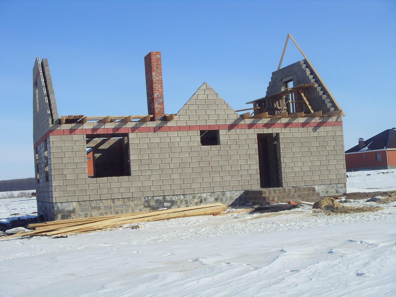 как быстро построить дом