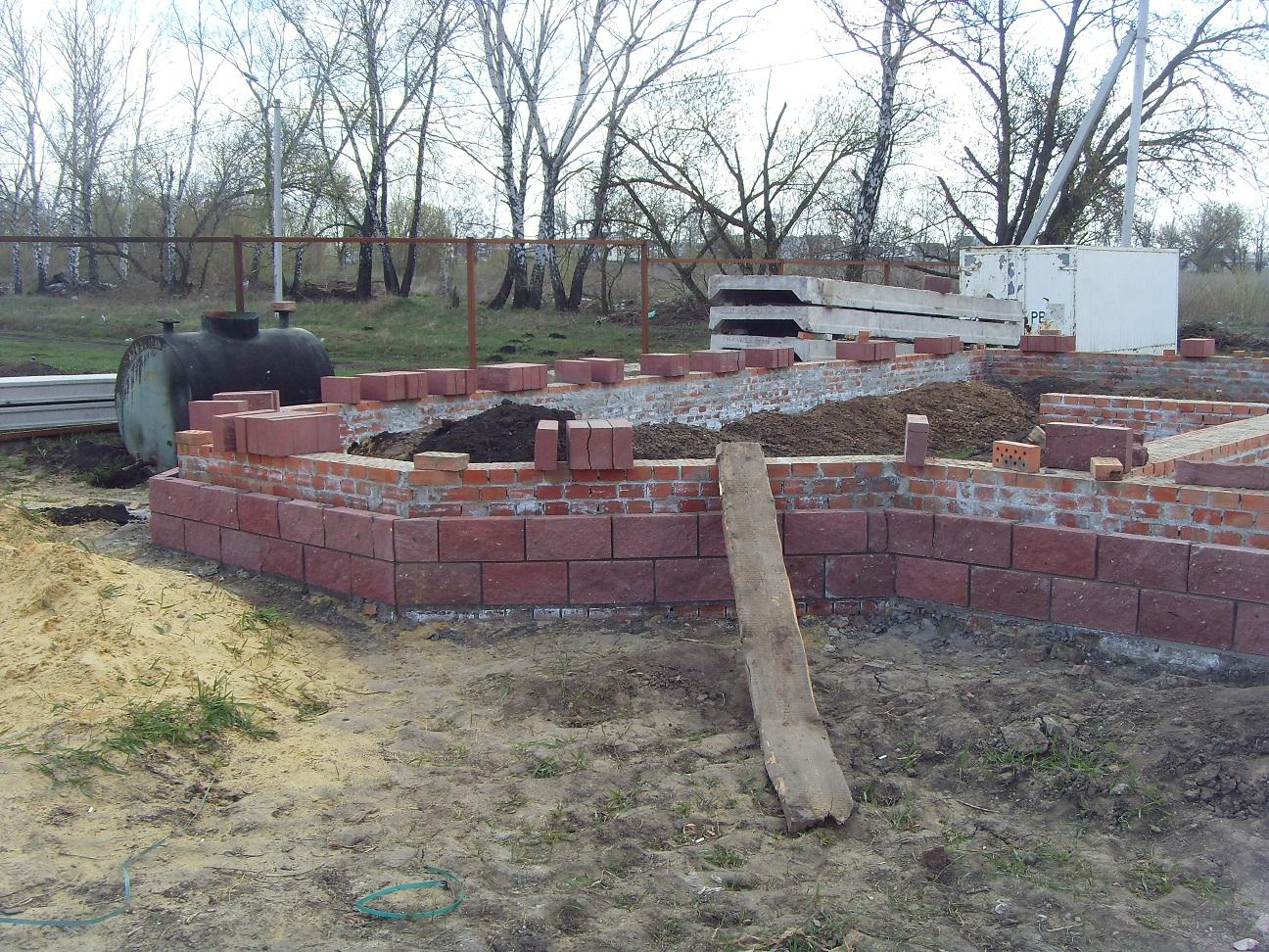 Фундамент для нового дома
